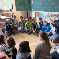 Unterrichtsalltag: Sitzkreis