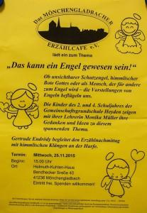 Plakat Erzählcafé