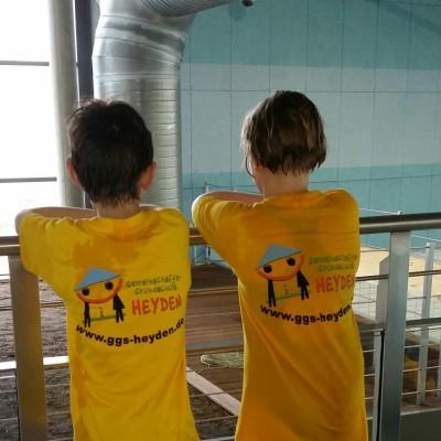 Unsere neuen Schul-Shirts