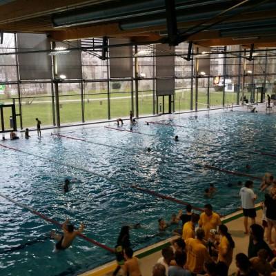 Wettkampf: Dauerschwimmen